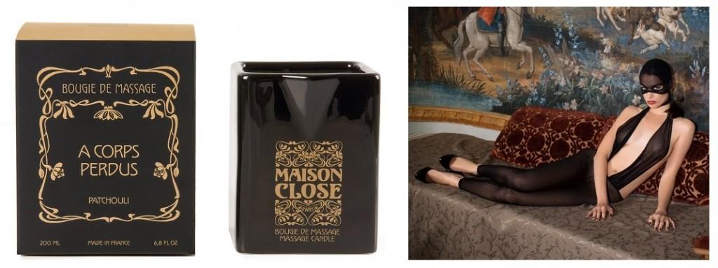Maison close des bougies parfum es pour le massage parfumista - Maison du monde bougie ...