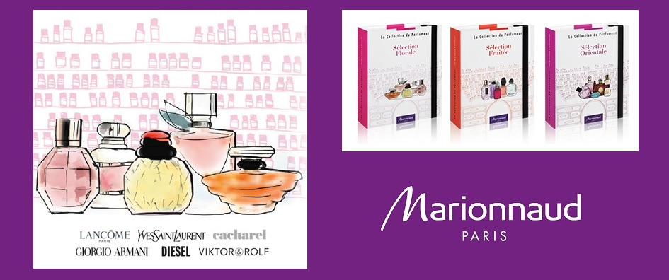 la collection du parfumeur_marionnaud