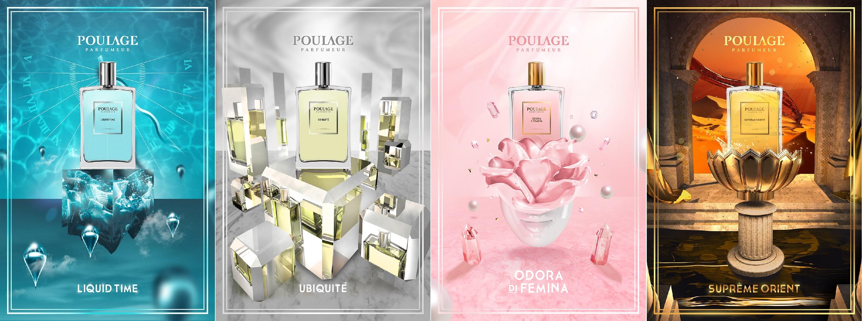 bandeau poulage parfumeur parfums
