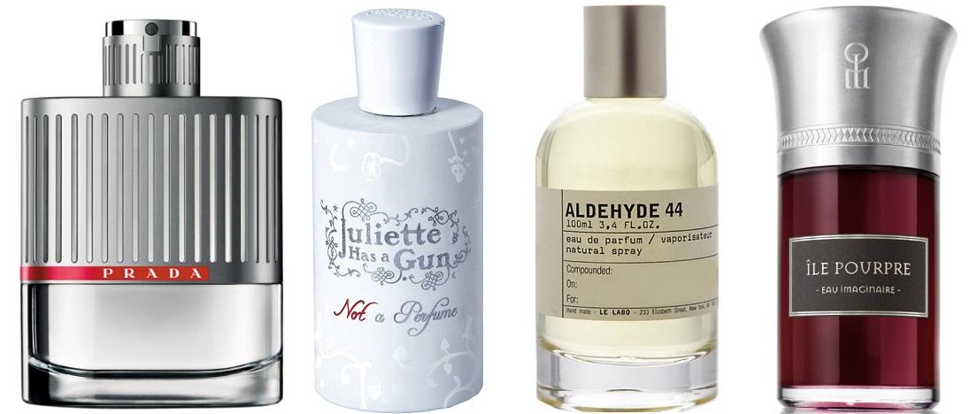 parfums avec synthese revendiquee