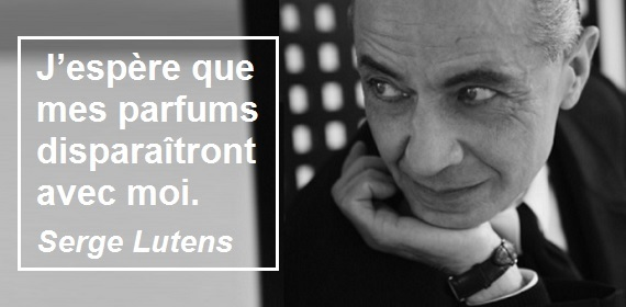 Interview : Serge Lutens