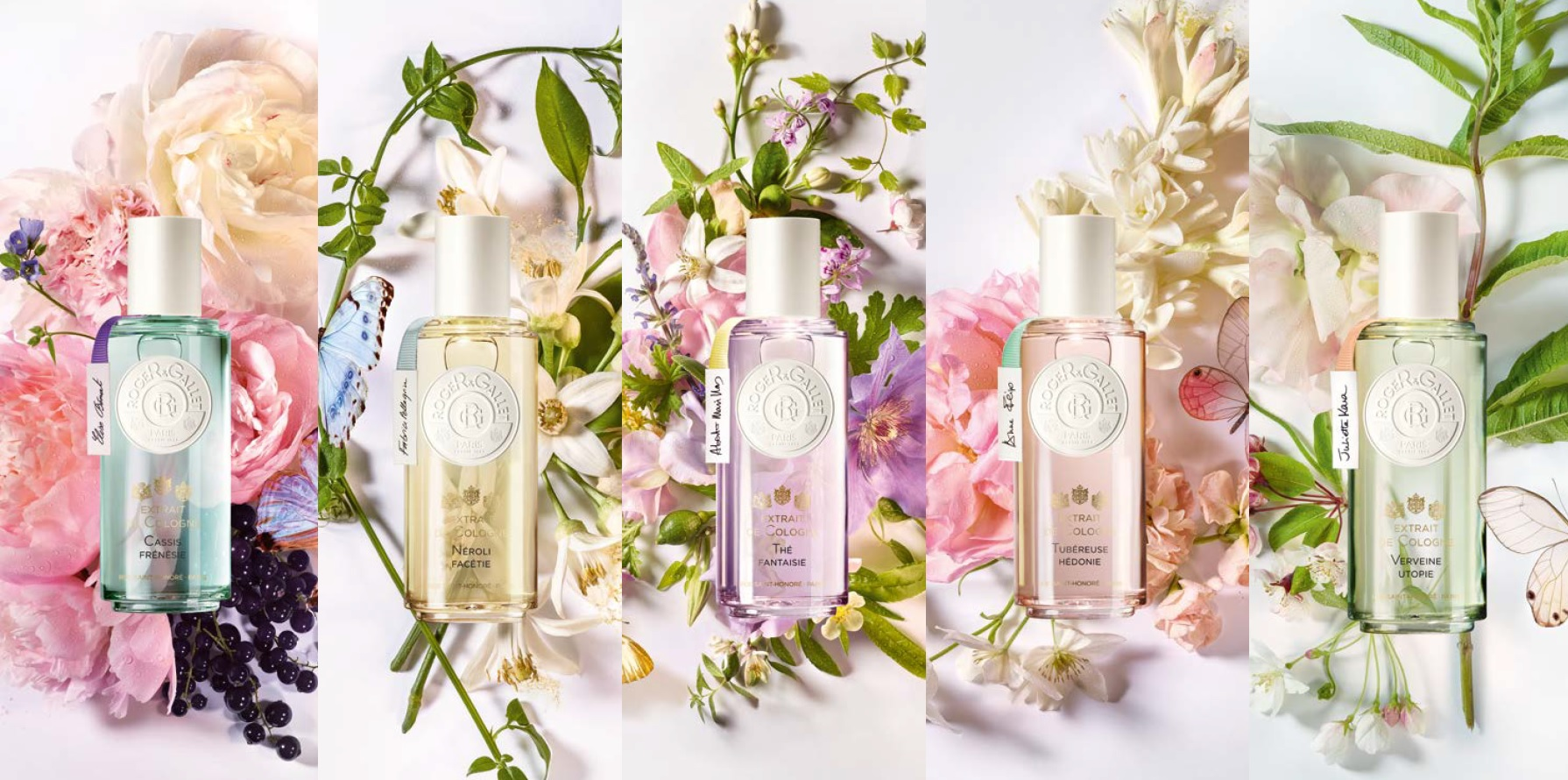 extraits de cologne roger & gallet decor