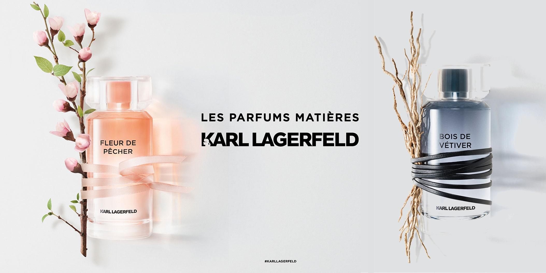 parfums matieres fleur de pecher bois de vetiver_karl lagerfeld