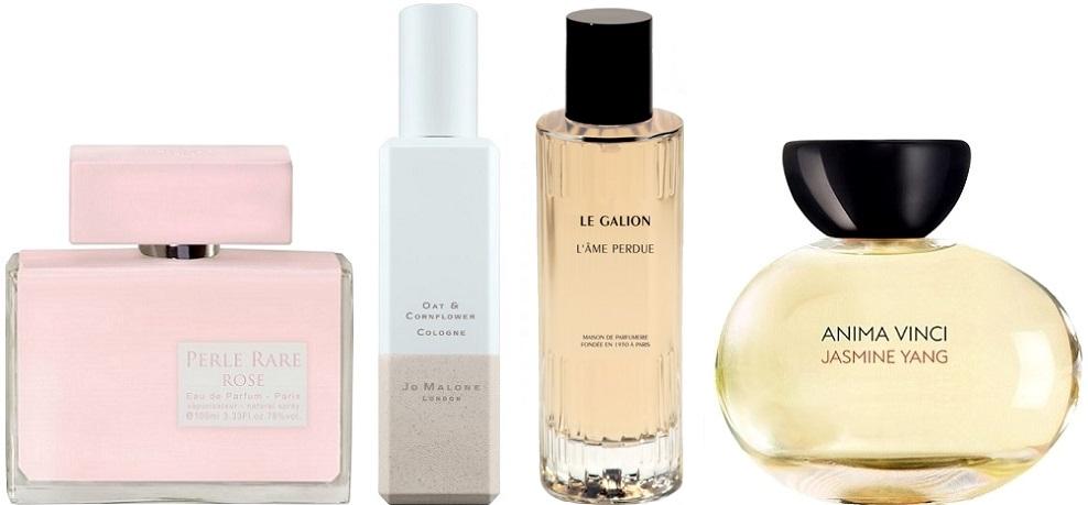 parfums fleuris chauds