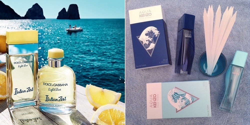light blue italian zest aqua kenzo_dolce & gabbana