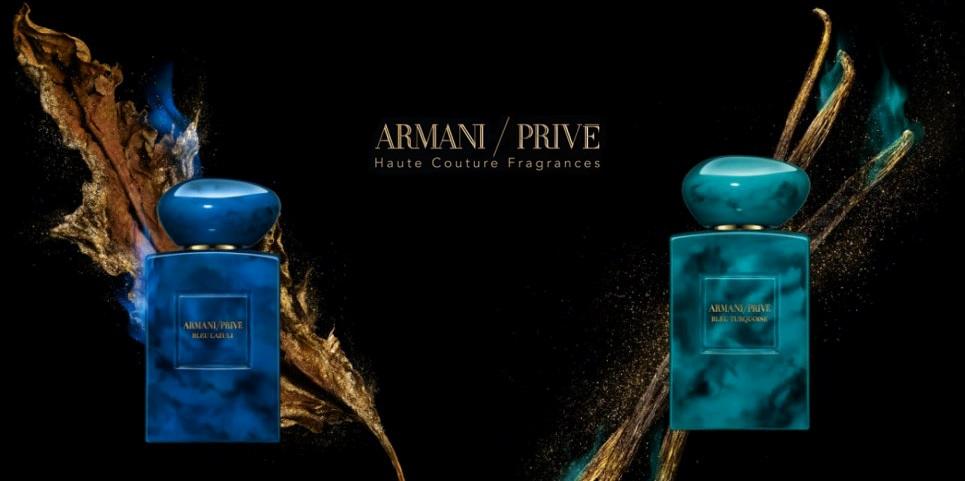 armani prive terres precieuses bleu lazuli & turquoise