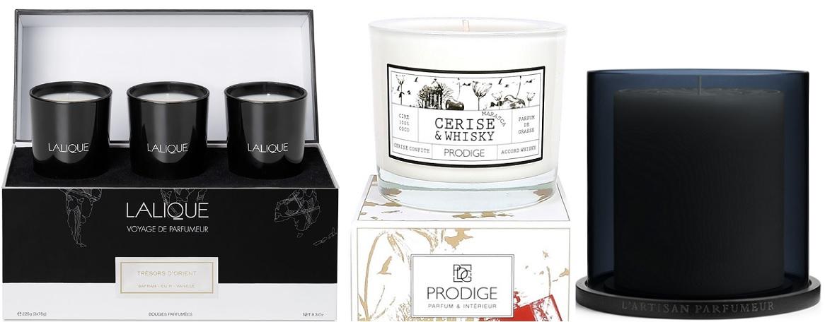 bougies lalique prodige l artisan parfumeur