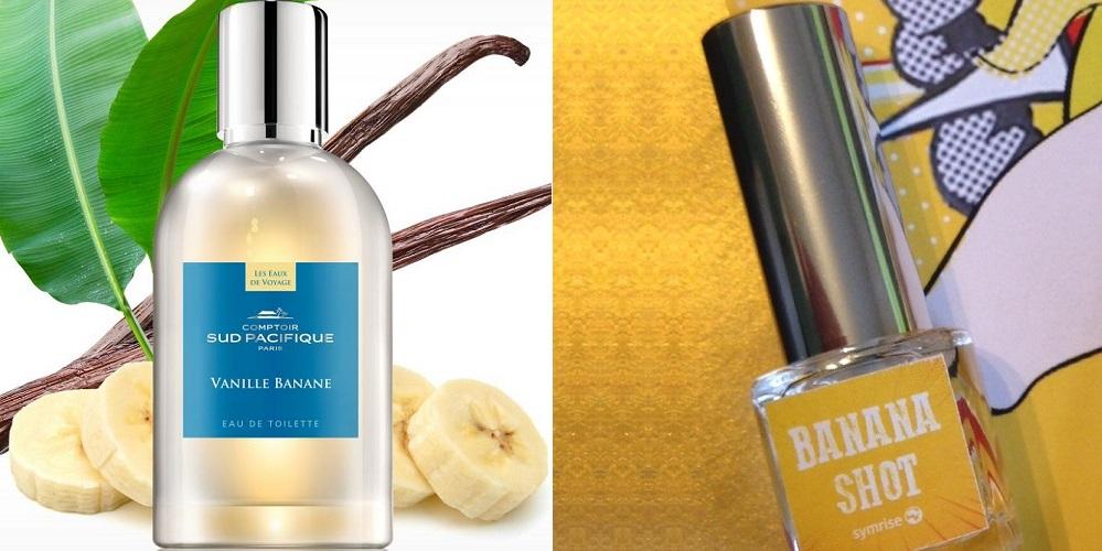 vanille banane comptoir sud pacifique & banana shot symrise