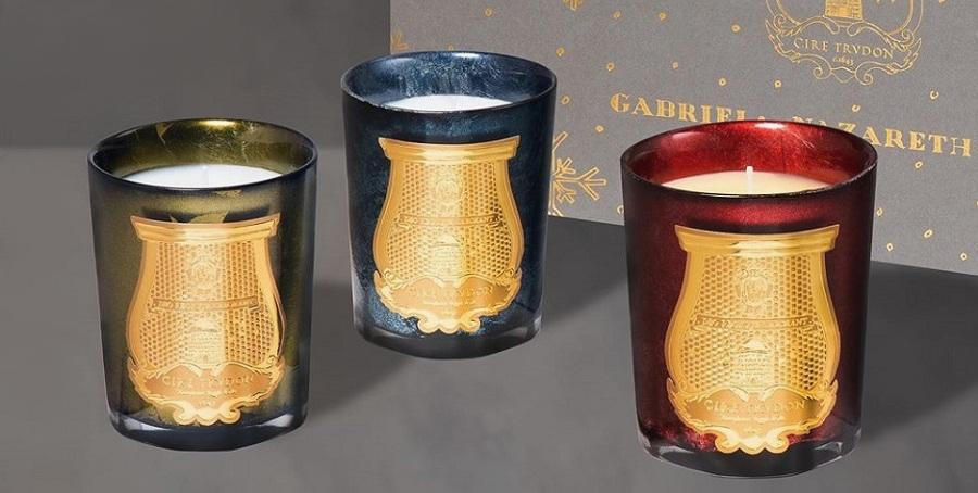 Bougies parfumées pour l'hiver