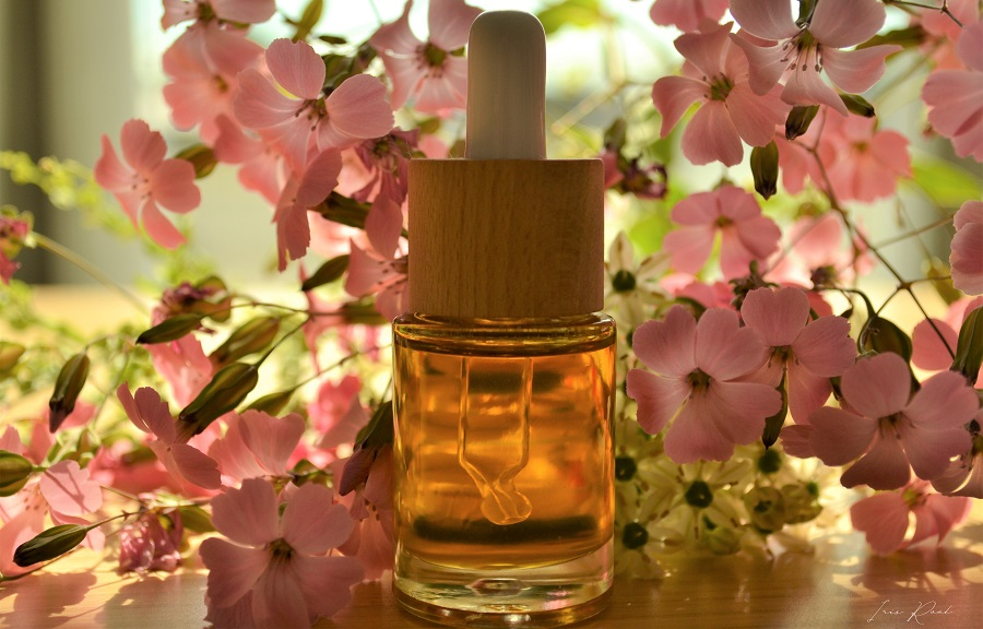 flacon huile essentielle iris root