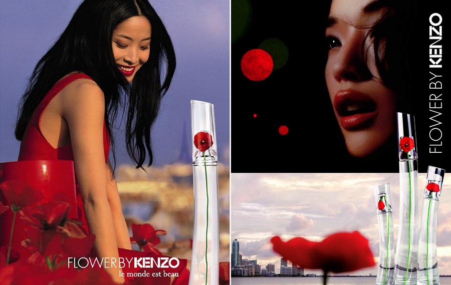 publicités flower by kenzo